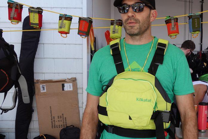 Matt Porter with Kokatat Hustle R PFD