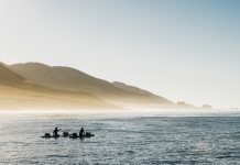 How The Higginbotham brothers paddled the West Coast by hand, 20 miles a day. | Photo: Courtesy Ryan and Casey Higginbotham