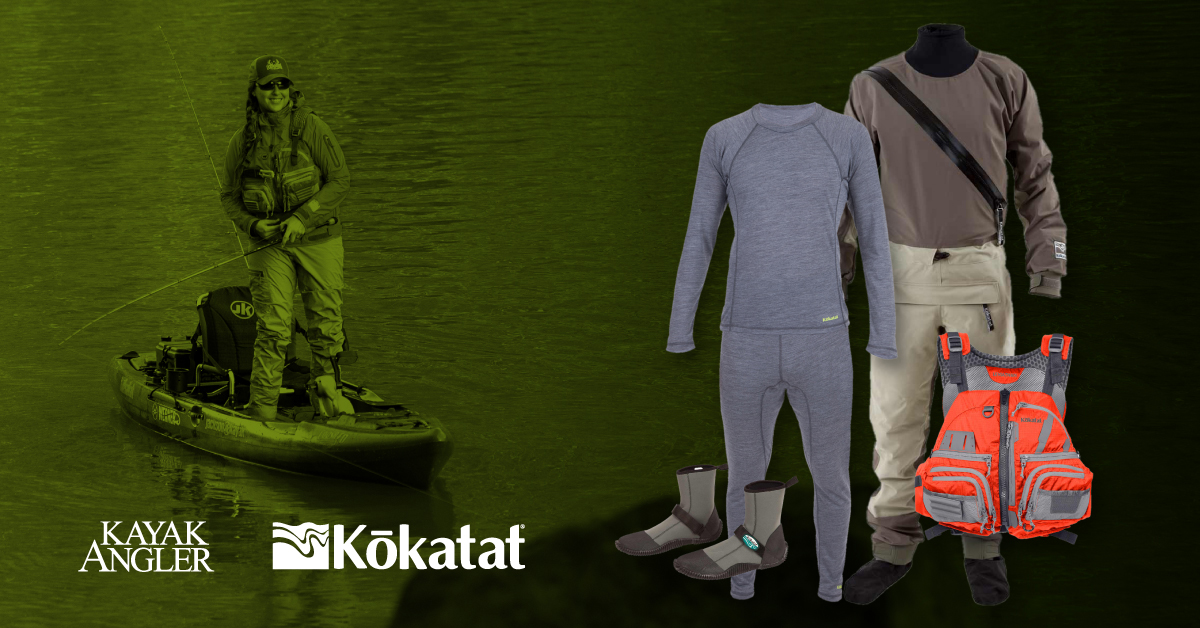 Win a Full Fishing Set Up From Kokatat | Kayak Angler Magazine