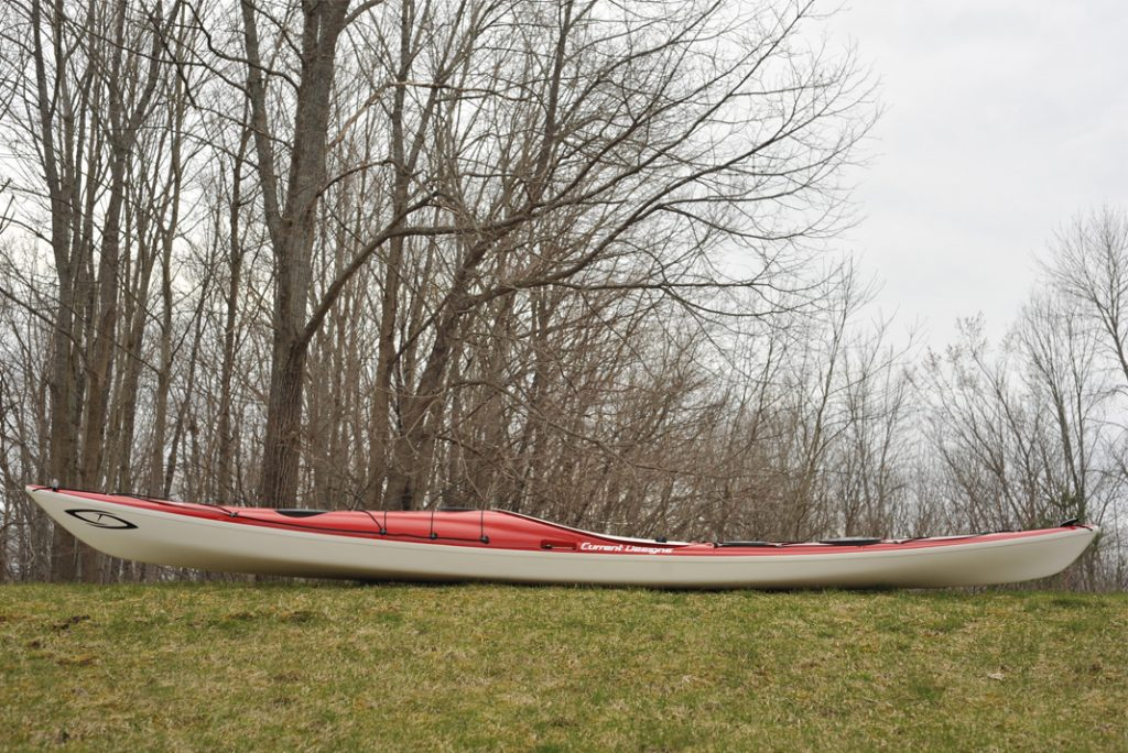 Playful Karla has the most rocker of any Current Designs kayak. Added volume in the bow prevents diving when surfing and maximizes maneuverability.   Photos: Virginia Marshall