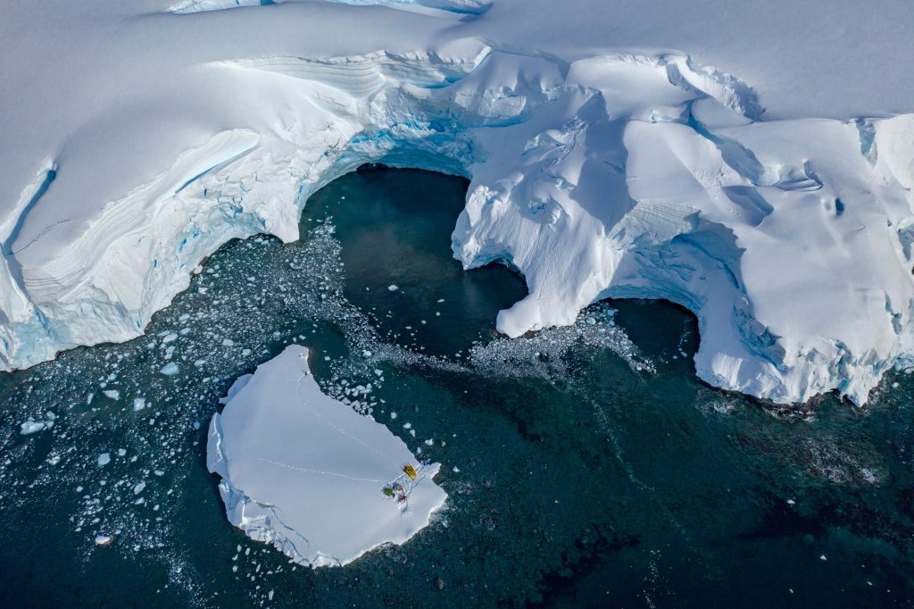Antarctica is the coldest, windiest, driest and highest continent. Who's in? | Photo: Steve Ruskay