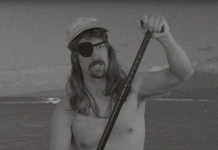 Salty Jefferson teaches paddlers to always wear a SUP leash.