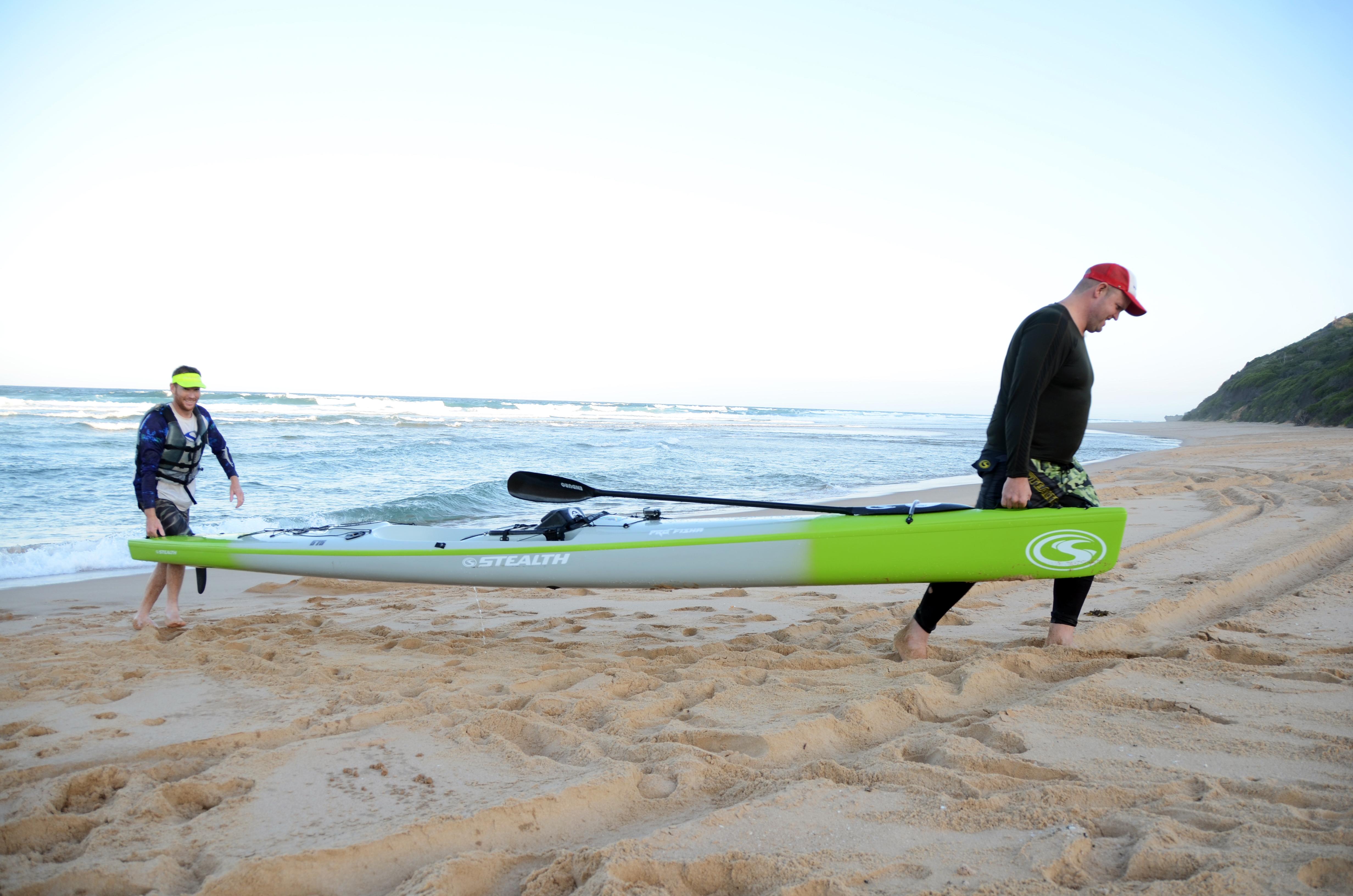 KAYAK SURFING TRAVEL DINGHY KAYAK FISHING ROD /& REEL SEA FISHING BOAT