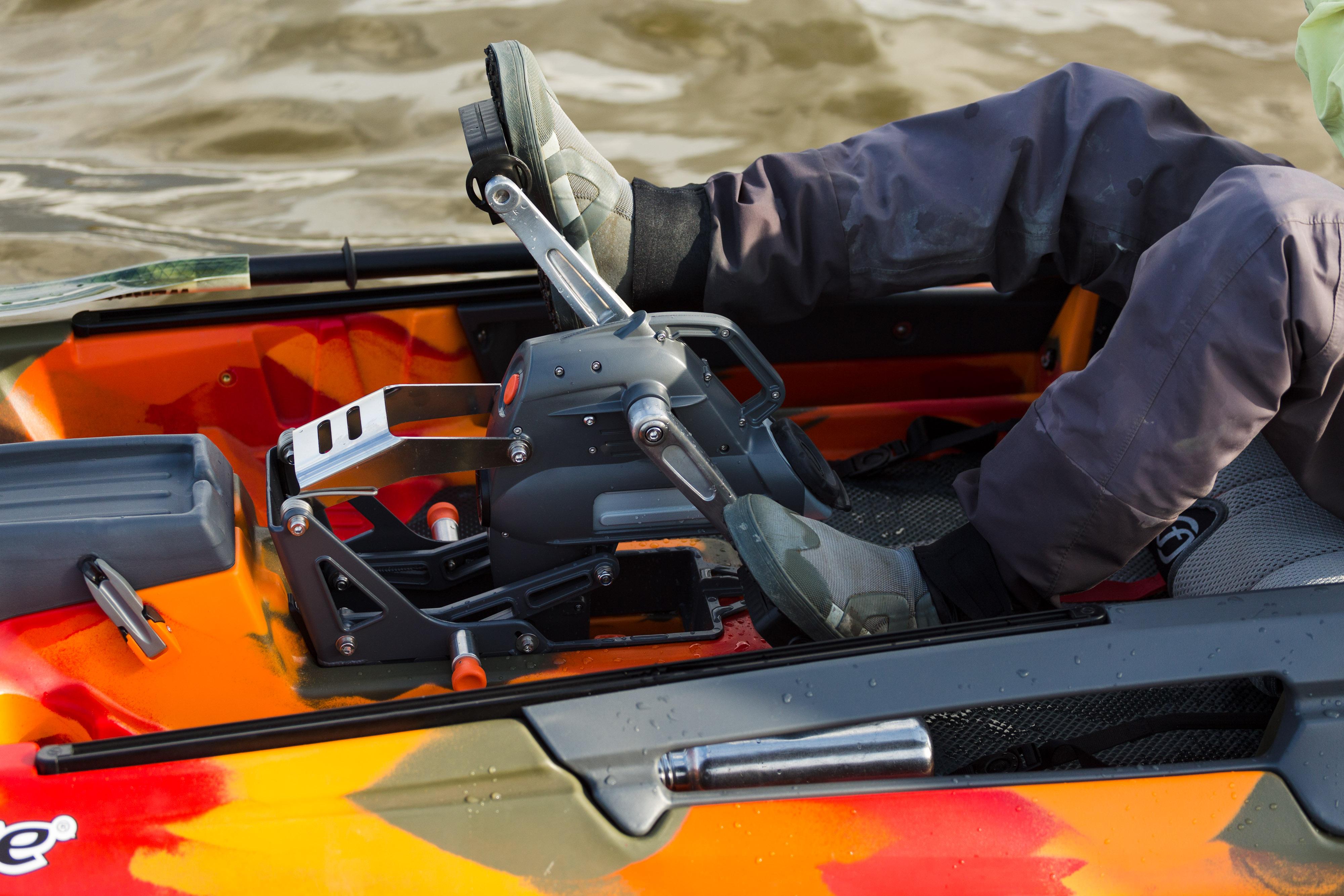 Kayak Fishing Pedal Drives
