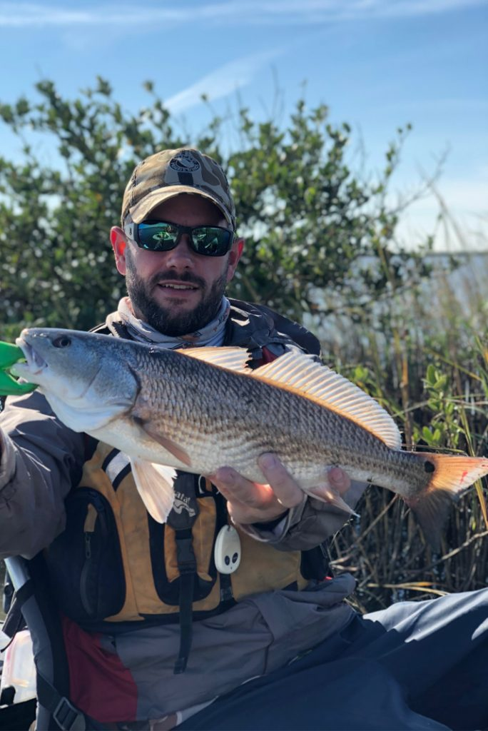 Look for redfish tailing along marsh grass. |  Photo: Josh Tidwell