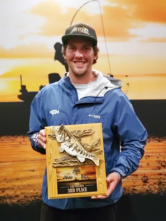 Third place finisher, Cody Milton.