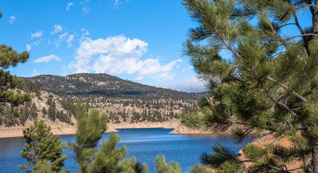 Gross Reservoir fish Colorado