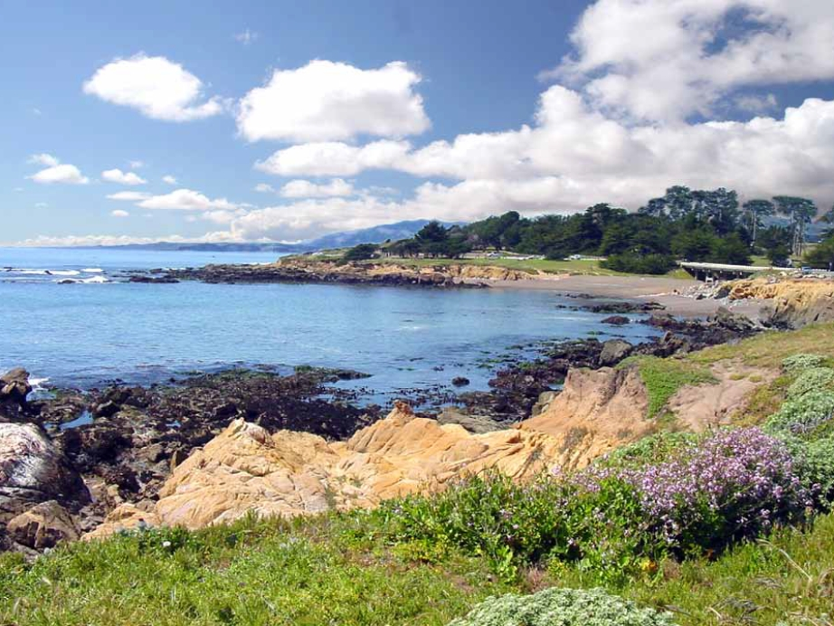 Leffingwell Landing offers protected access to the Pacific. Photo: Nancy McKarney