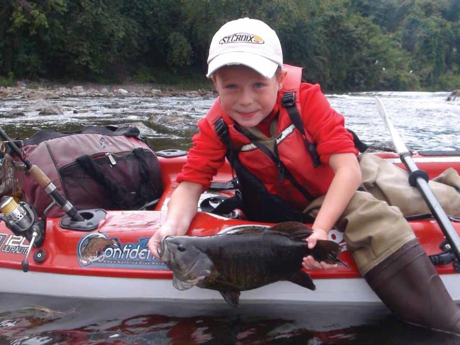 When you take a kid fishing, bring him back. Photo: Jeff Little