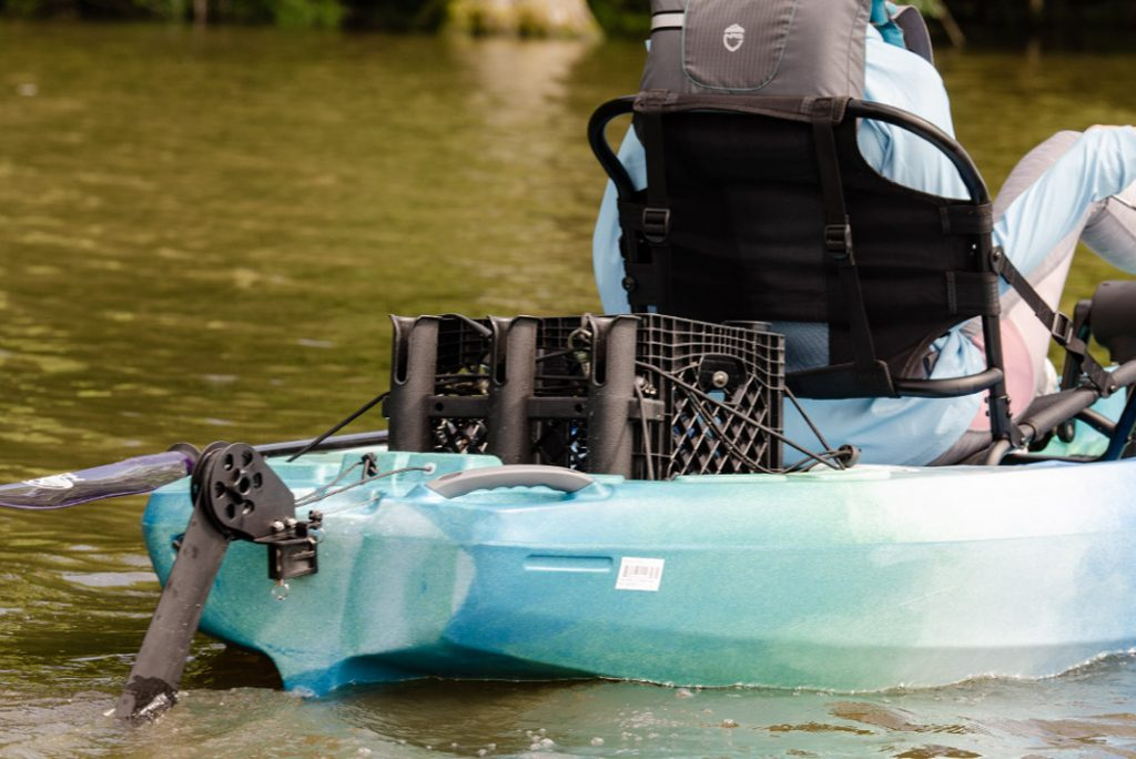Perception kayak rudder