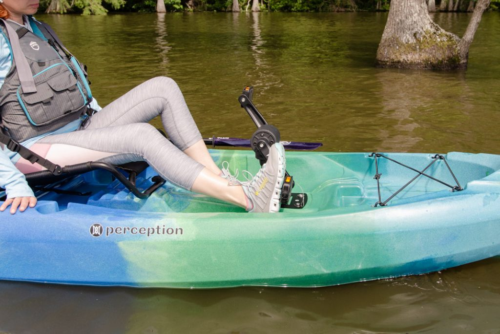 Perception kayak pedal drive