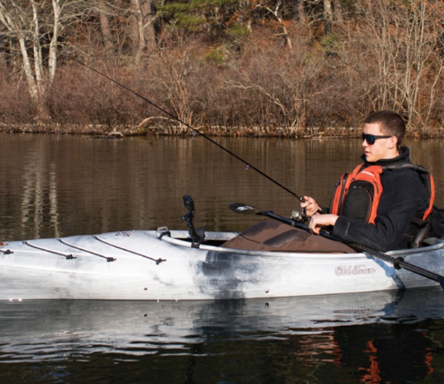 The sleek and nimble Loon 126 Angler will make the perfect trolling platform for anglers fishing anywhere. Photo: Ben Duchesney