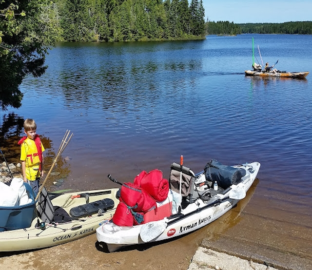Do something memorable with your kids and plan a weekend of camping and kayak fishing. Photos: Joe Tilley