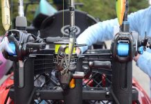 A collection of baitcasting vs. spinning reels