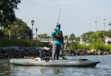 Kayak fishing from the Old Town Predator PDL 2020