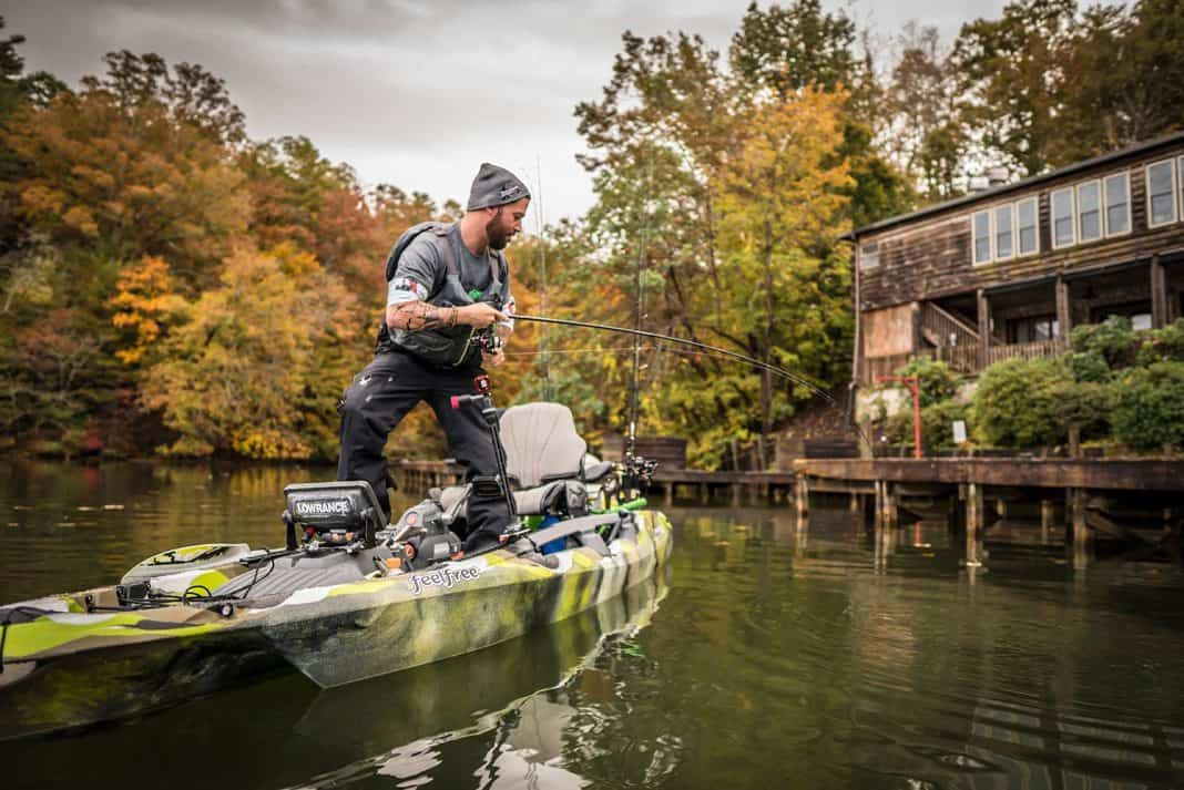 Three rods and three lures to cover any lake. | Photo: Roland Jimenez