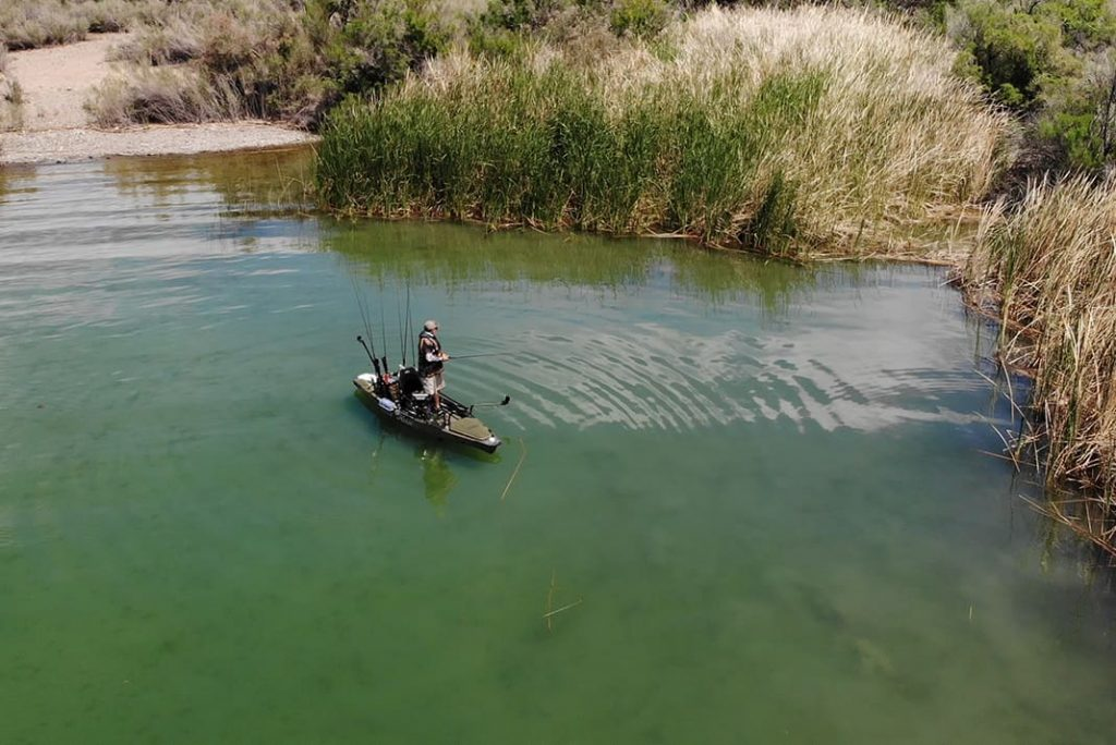 Fishing lake Havsu