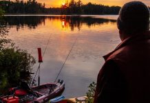 """""""I love shooting and fishing around my home in Canada."""" 