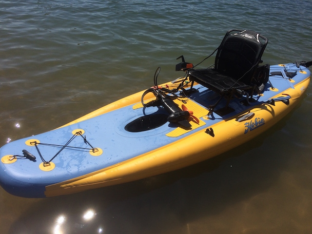 Hobie improves their inflatable line and adds flagship i11s SUP. Photo: Ric Burnley