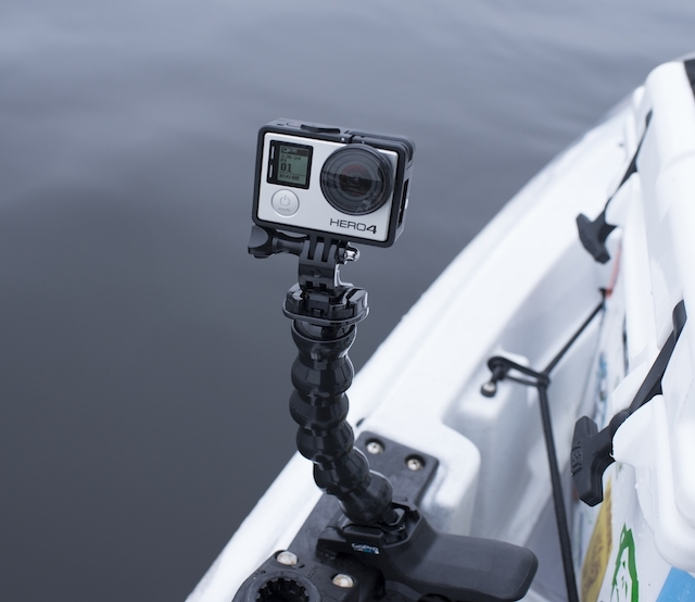 Whatever GoPro releases next, I'm sure anglers will be lining up to pick it up. Photo: Ben Duchesney