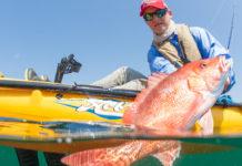 Ric Burnley will paddle or pedal his fishing kayak