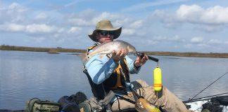 Sight fishing brings out the hunting instinct. | Photo: Josh Tidwell