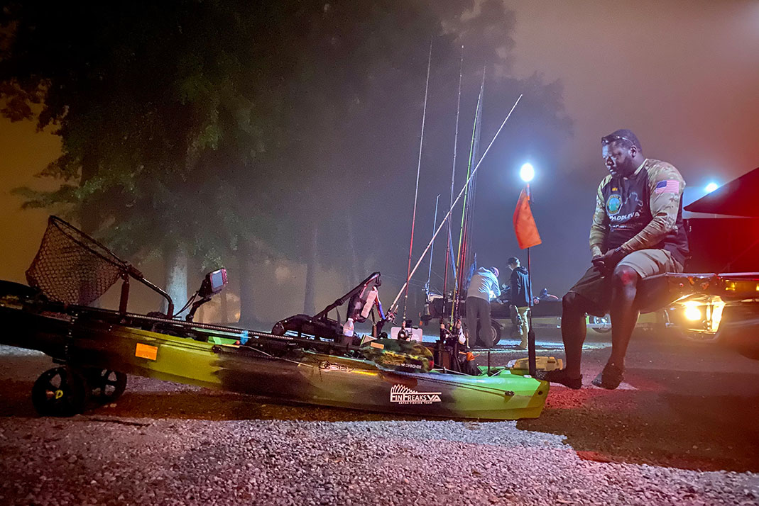 And it don't matter if we sit forever. And the fish don't bite.... You and me go fishin' in the dark. -Nitty Gritty Dirt Band | Photo: Scott Beutjer