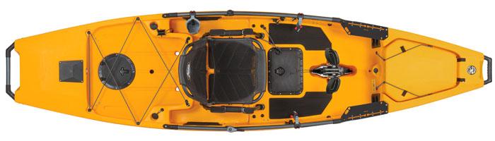 Hobie Mirage Pro Angler 12 fishing kayak