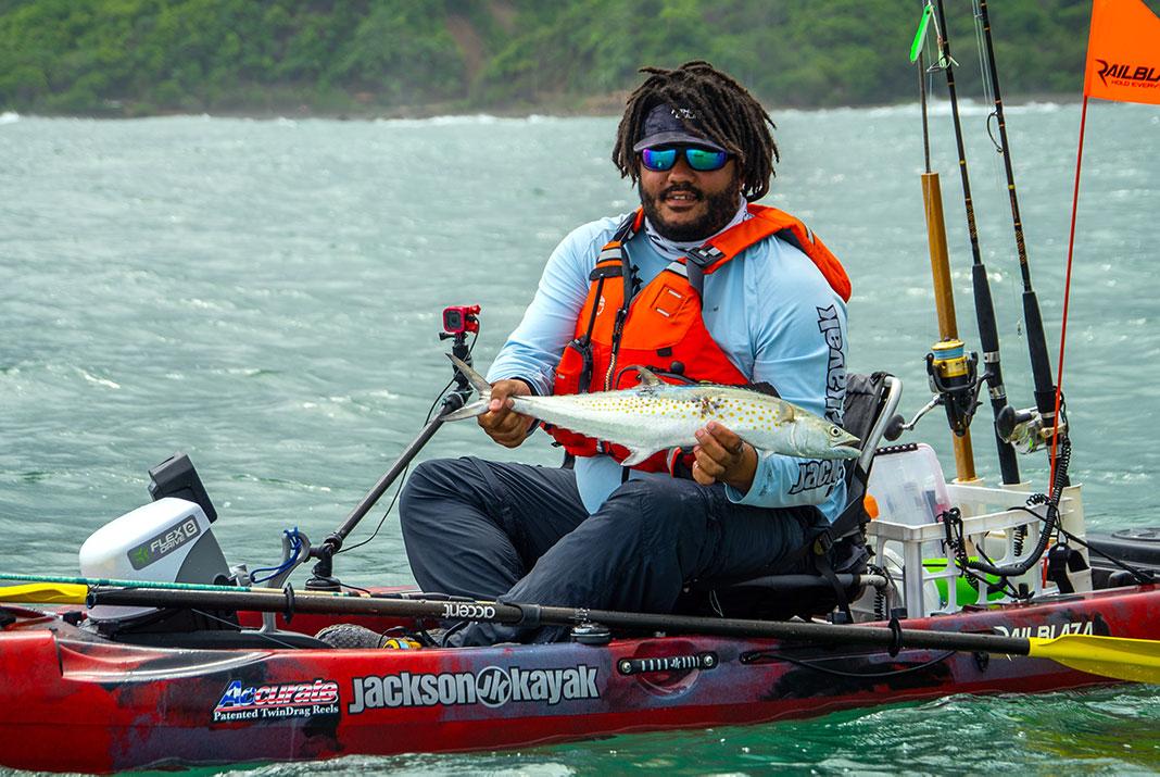 Pacific sierra mackerel are a blast on light tackle. | Photo: Will Richardson