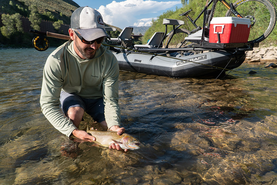 Look for trout where they aren't usually seen. | Photo: Marc Fryt