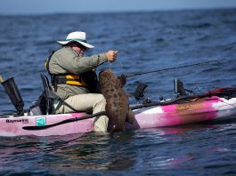 From the calm Sea of Cortez to the wild Pacific, Baja offers diverse fishing opportunities.   Photo: Kayak Fishing Show