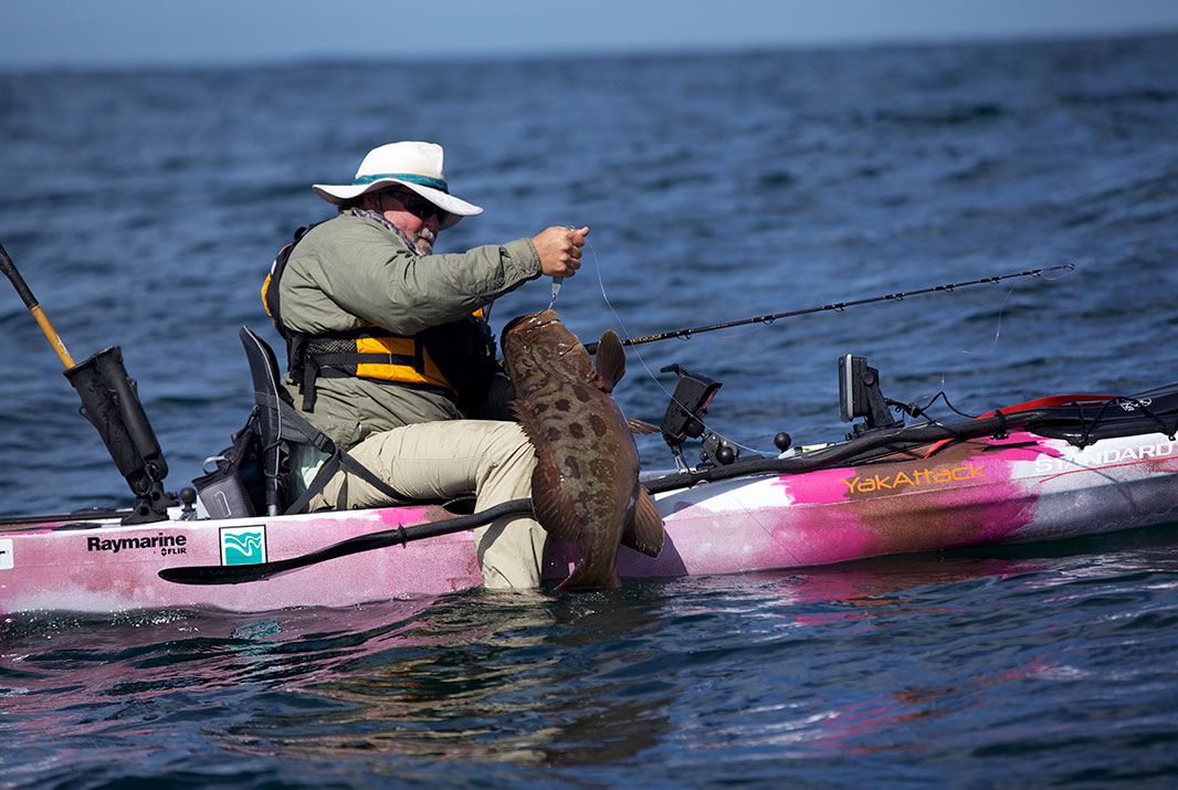 From the calm Sea of Cortez to the wild Pacific, Baja offers diverse fishing opportunities. | Photo: Kayak Fishing Show