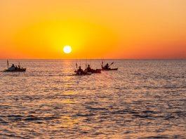 Offshore pelagics or inshore flats, fish within paddle range of the resort.   Photo: Paul Lebowitz