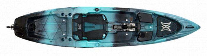 Pescador Pilot 12.0 fishing kayak by Perception Kayaks