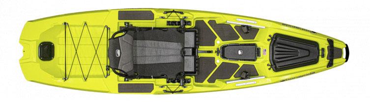 Bonafide Kayaks SS107 fishing kayak