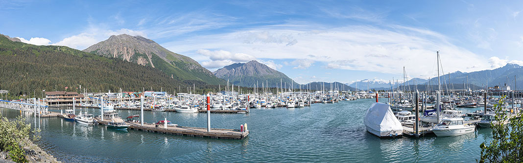 Seward Harbor is the gateway to Alaska fishing