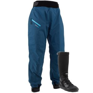 NRS Endurance Splash Pants and Boundary Boot