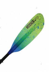 Camano Hooked kayak paddle from Werner Paddles