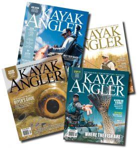 Kayak Angler magazine covers