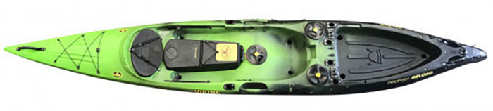 Profish Reload fishing kayak from Viking Kayaks