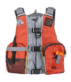 Calcutta kayak fishing life jacket from MTI Adventurewear