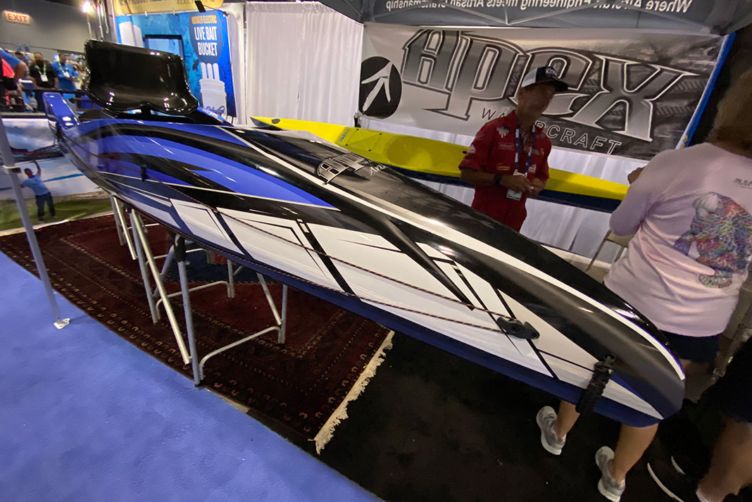 Apex Watercraft Tyr at ICAST 2021