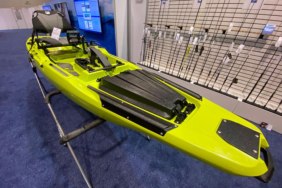 Bonfide Kayaks P127 pedal fishing kayak