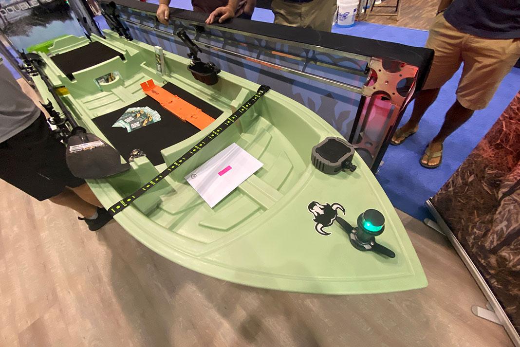 Skanu fishing kayak at ICAST 2021
