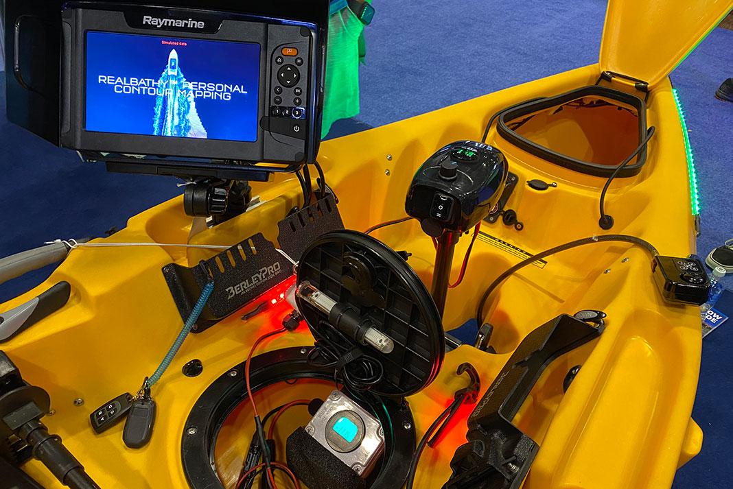 Mariner Direct kayak electronics at ICAST 2021