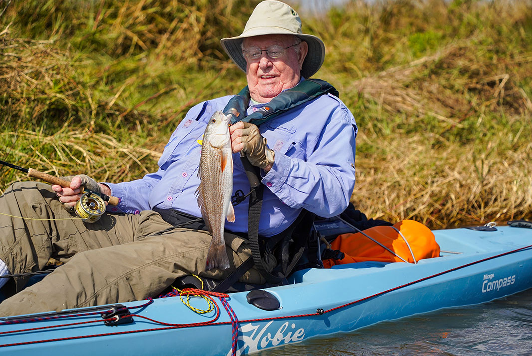 Elder statesmen, like Mike LaFleur, are key to growing the sport. | Photo: Chris Holmes