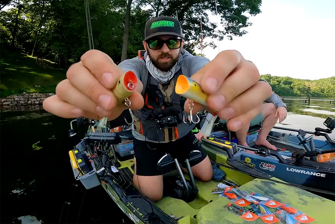 Jeff Burlingame of Burly Fishing compares bargain fishing lures to name brand competitors