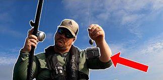 kayak angler sends a GoPro Hero 9 to an underwater reef on his fishing reel