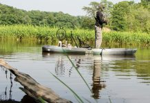 Old Town's Topwater 120 Fishing Kayak